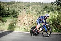 Benjamin Thomas (FRA/Groupama - FDJ)<br /> Elite Men Individual Time Trial<br /> from Northhallerton to Harrogate (54km)<br /> <br /> 2019 Road World Championships Yorkshire (GBR)<br /> <br /> ©kramon