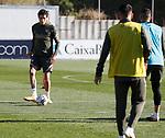 Atletico de Madrid's Jose Maria Gimenez during training session. October 8,2020.(ALTERPHOTOS/Atletico de Madrid/Pool)