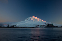 Mawson's Peak at Sunset, Heard Island, Antarctica