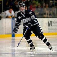 6 January 2007: University of New Hampshire forward Brett Hemingway (15) from Surrey, BC, in action against the University of Vermont Catamounts at Gutterson Fieldhouse in Burlington, Vermont. The UNH Wildcats defeated Vermont 2-1 to sweep the two-game weekend series in front of a record setting 49th consecutive sellout at the Gut...Mandatory Photo Credit: Ed Wolfstein Photo.<br />