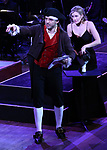 """Tony Yazbeck and Dana Costello performing during the MCP Production of """"The Scarlet Pimpernel"""" Concert at the David Geffen Hall on February 18, 2019 in New York City."""