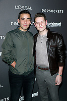LOS ANGELES - JAN 26:  Conrad Ricamora, Joshua Cockream at the Entertainment Weekly SAG Awards pre-party  at the Chateau Marmont  on January 26, 2019 in West Hollywood, CA