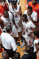 SAN ANTONIO, TX - NOVEMBER 17, 2012: The University of South Carolina Upstate Spartans versus the University of Texas at San Antonio Roadrunners Men's Basketball at the UTSA Convocation Center. (Photo by Jeff Huehn)