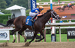 08182021: #3 Blewitt ridden by Luis Saez trained by T.A. Pletcher wins the 4th race Maiden fillies 2 yr old at Saratoga Race Course<br /> Robert Simmons/Eclipse Sportswire