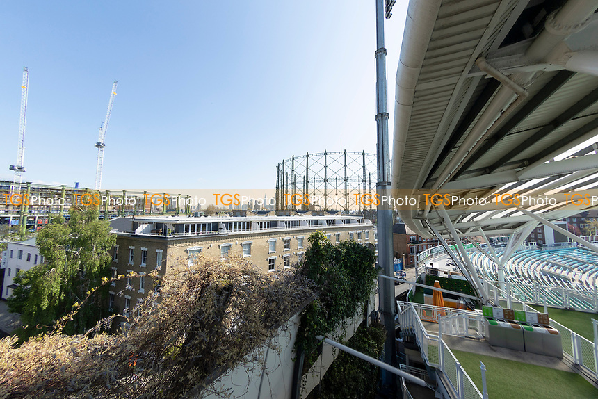 The view to the rear of the Oval during Surrey CCC vs Hampshire CCC, LV Insurance County Championship Group 2 Cricket at the Kia Oval on 1st May 2021