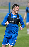 St Johnstone Training….29.06.19   McDiarmid Park, Perth<br />Danny Swanson<br />Picture by Graeme Hart.<br />Copyright Perthshire Picture Agency<br />Tel: 01738 623350  Mobile: 07990 594431