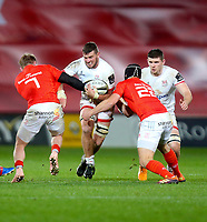 9th November 2019 | Munster vs Ulster<br /> <br /> Sean Reidy during the Round 6 PRO14 League clash between Munster Rugby and Ulster Rugby at Thomond Park, Limerick, Ireland. Photo by John Dickson / DICKSONDIGITAL