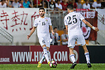 Yaser Alrawashdeh of Jordan in action during the International Friendly match between Hong Kong and Jordan at Mongkok Stadium on June 7, 2017 in Hong Kong, China. Photo by Marcio Rodrigo Machado / Power Sport Images