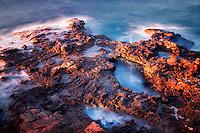 Coastline in Lanai, Hawaii
