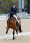 April 23, 2021: #67 Off The Record and rider William Coleman from the USA in the 5* Dressage  at the Land Rover Three Day Event at the Kentucky Horse Park in Lexington, KY on April 23, 2021.  Candice Chavez/ESW/CSM
