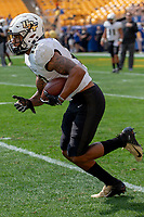 UCF wide receiver Gabriel Davis. The Pitt Panthers defeated the UCF Knights 35-34 in a football game played at Heinz Field, Pittsburgh, Pennsylvania on September 21, 2019.