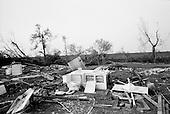 New Orleans, Louisiana.USA.September 28, 2005 ..Hurricane Katrina damage and recovery in St. Bernard's Parish.