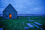 Hebrides, Iona island. St Oran cemetry, Legend has it that ancient Scottish, Irish and Norse kings are buried here.
