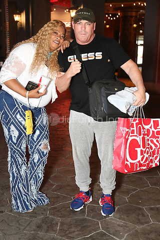 ATLANTIC CITY, NJ - JUNE 9 : Deb Antney of Love and Hip Hop pictured with Damon Feldman at The Show Boat Hotel in Atlantic City June 9, 2021. Credit: Star Shooter/MediaPunch