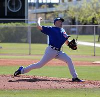 Matt Swarmer - Chicago Cubs 2019 spring training (Bill Mitchell)