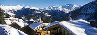 EEurope/France/Rhone-Alpes/73/Savoie/Courchevel: Courchevel 1850 détail chalets