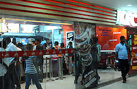 KFC (Kentucky Fried Chicken) fast food restaurant in Madras, India