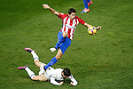 Atletico de Madrid's Stefan Savic (t) and Real Madrid's Isco Alarcon during La Liga match. November 19,2016. (ALTERPHOTOS/Acero)