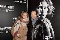 Caroline FAINDT - Zinedine SOUALEM - Avant-premiere du film ' Le Secret de la Chambre Noire ' de Kiyoshi Kurosawa - La Cinematheque francaise 6 fevrier 2017 - Paris - France
