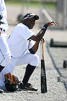 March 21st 2008:  D'Andre Vaughn of the Detroit Tigers minor league system during Spring Training at Tiger Town in Lakeland, FL.  Photo by:  Mike Janes/Four Seam Images