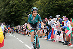 Quentin Pacher (FRA) B&B Hotels-Vital Concept climbs Col de Marie Blanque during Stage 9 of Tour de France 2020, running 153km from Pau to Laruns, France. 6th September 2020. <br /> Picture: Colin Flockton   Cyclefile<br /> All photos usage must carry mandatory copyright credit (© Cyclefile   Colin Flockton)