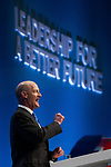 © Joel Goodman - 07973 332324  . 04/10/2011 . Manchester, UK . DAVID WILLETTS speaks at the 2011 Conservative Party Conference at the Manchester Central Convention Centre (formerly GMex) . Photo credit: Joel Goodman