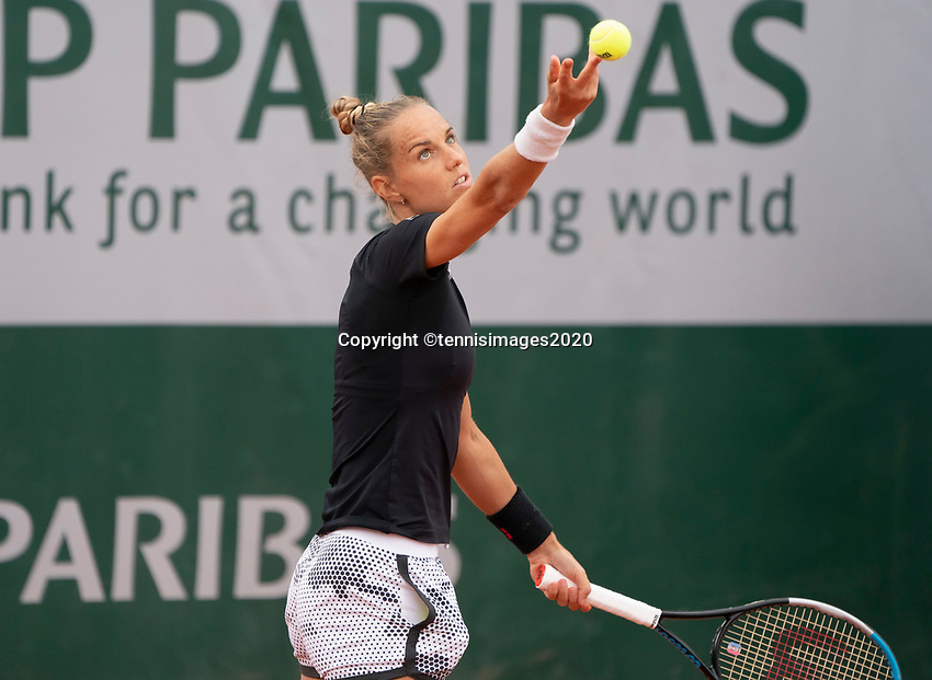 Paris, France, 30 May, 2020, Tennis, French Open, Roland Garros, Womans doubles,: Arantxa Rus (NED)<br /> Photo: Fred Mullane/tennisimages.com
