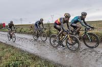 Wout van Aert (BEL/Jumbo Visma)<br /> <br /> 118th Paris-Roubaix 2021 (1.UWT)<br /> One day race from Compiègne to Roubaix (FRA) (257.7km)<br /> <br /> ©kramon
