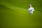 CHON BURI, THAILAND - FEBRUARY 18:  Amy Yang of South Korea plays her aproach shot on the 1st hole during day two of the LPGA Thailand at Siam Country Club on February 18, 2011 in Chon Buri, Thailand.  Photo by Victor Fraile / The Power of Sport Images