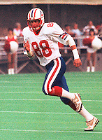 Jacques Chapdelaine Montreal Alouettes 1986. Photo F. Scott Grant