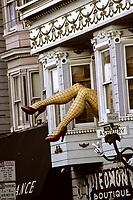 San Francisco, California.  Haight Street, Haight-Ashbury District.