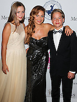 BEVERLY HILLS, CA, USA - OCTOBER 11: Natasha Valerievna Bure, Candace Cameron-Bure, Lev Valerievich Bure arrive at the 2014 Carousel Of Hope Ball held at the Beverly Hilton Hotel on October 11, 2014 in Beverly Hills, California, United States. (Photo by Celebrity Monitor)