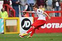 Luke Freeman of Stevenage shoots wide<br />  - Stevenage v Carlisle Untied - Sky Bet League 1 - Lamex Stadium, Stevenage - 21st September, 2013<br />  © Kevin Coleman 2013