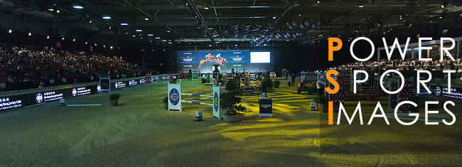 The HKJC Race of the Rider during the Longines Masters of Hong Kong on 19 February 2016 at the Asia World Expo in Hong Kong, China. Photo by Li Man Yuen / Power Sport Images