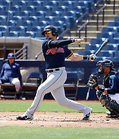 Henry Pujols - Cleveland Indians 2019 extended spring training (Bill Mitchell)
