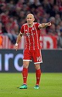 11.04.2018, Football UEFA Champions League 2017/2018, Quarter Finals 2nd leg, FC Bayern Muenchen - FC Sevilla, in Allianzarena Muenchen. Arjen Robben (FC Bayern Muenchen) . *** Local Caption *** © pixathlon<br /> <br /> Contact: +49-40-22 63 02 60 , info@pixathlon.de