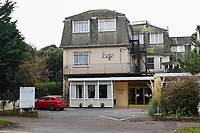 BNPS.co.uk (01202)558833<br /> Pic: GrahamHunt/BNPS<br /> <br /> The Hinton Firs Hotel in Bournemouth.<br /> <br /> Members of a Tinsel and Turkey coach party have spoken of their nightmare Christmas break at a seaside hotel likened to Fawlty Towers.<br /> <br /> The group of mostly OAPs claim the heating packed up, the staff walked out and they ran out of food and drink during their stay.