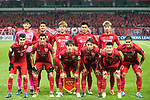 The Shanghai SIPG squad pose for team photo during the AFC Champions League 2017 Group F match between Shanghai SIPG FC (CHN) vs Western Sydney Wanderers (AUS) at the Shanghai Stadium on 28 February 2017 in Shanghai, China. Photo by Marcio Rodrigo Machado / Power Sport Images