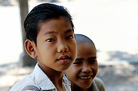 Kinder in Saigon, Vietnam