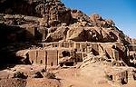 Jordan, Petra. Nabatean tombs&#xA;<br />