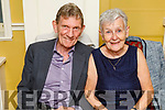 Richard and Francis Quirke from Tralee celebrating their 50th wedding anniversary, in the Brogue Inn on Friday.