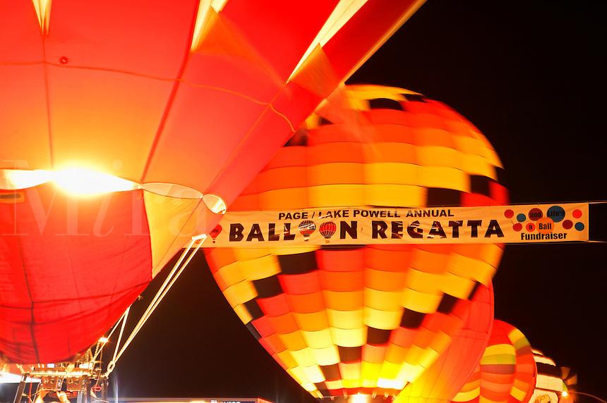 Lake Powell Ballon Regatta, Page, Arizona