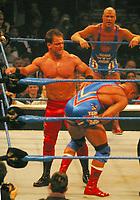 Chris Benoit 2003 RED TIGHTS<br /> Madison Square Garden<br /> Photo By John Barrett/PHOTOlink.net