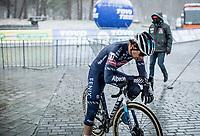David van der Poel (NED/Alpecin-Fenix) post finishing. <br /> <br /> Elite Men's Race<br /> Zilvermeercross Mol (BEL) 2021<br /> <br /> ©Kramon