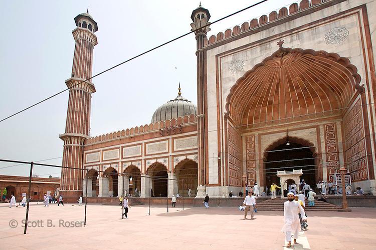 Jama Masjid Mosque, Old Delhi