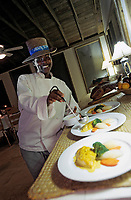 Iles Bahamas /Ile d'Andros/South Andros : Eco-Lodge-Tiamo-Resort la Chef Cuisinière Anna Salmon  // Bahamas Islands / Andros Island / South Andros: Ecolodge-Tiamo-Resort Chef Anna Salmon