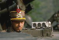 - Horse Artillery regiment, driver on a M 109 self-propelled gun<br /> <br /> - reggimento artiglieria a cavallo, pilota di un cannone semovente M 109