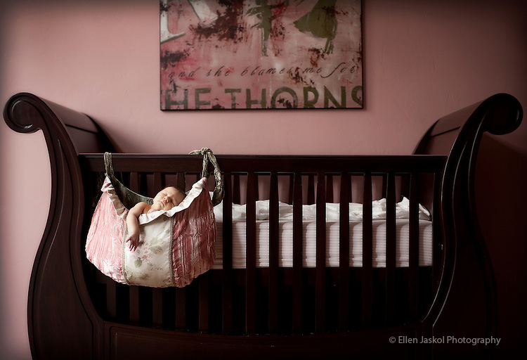 Zoe is photographed at 9 days old at her home in Denver on January 14, 2010.  Photo by Ellen Jaskol.