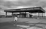 Limerick, in County Limerick, Southern Ireland Eire 1979. Newly built Shannon Industrial Estate.
