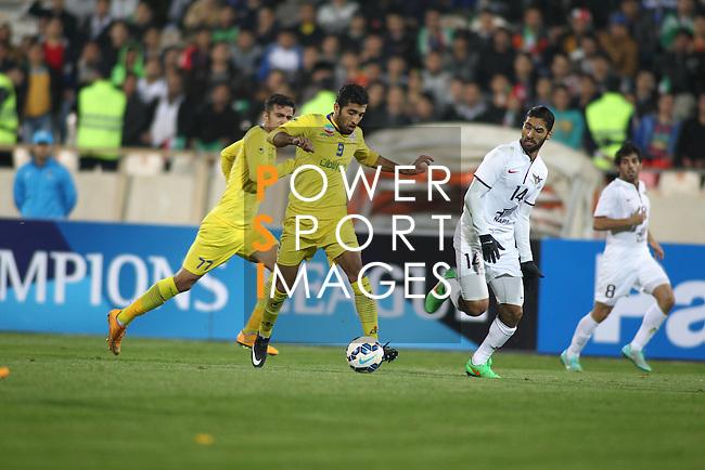 Naft Tehran vs Al Jaish during the 2015 AFC Champions League Play Off on February 17, 2015 at the Azadi Stadium in Tehran, Iran. Photo by Adnan Hajj /  World Sport Group